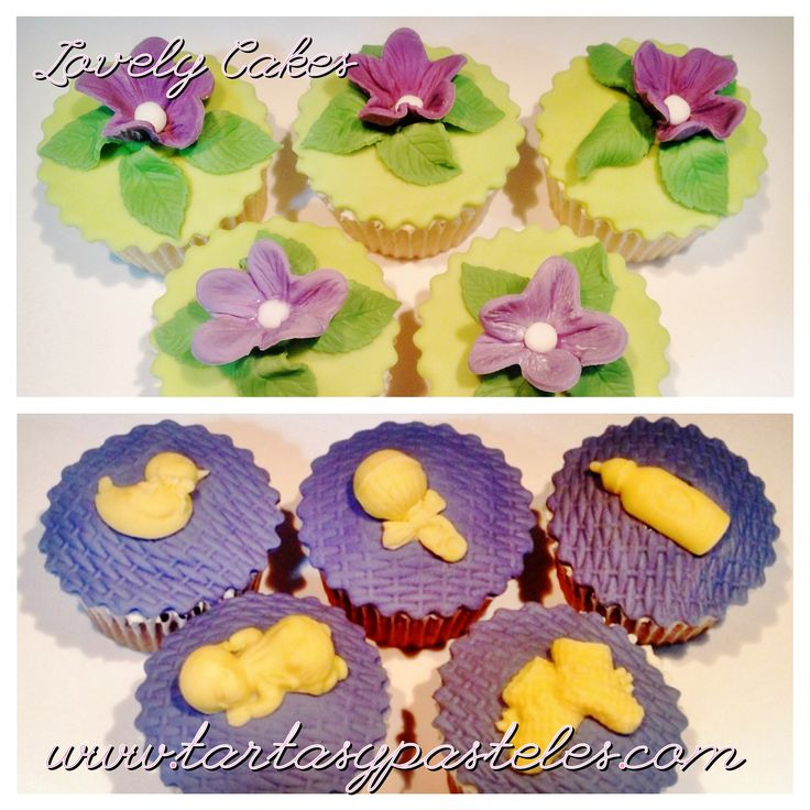 Cupcakes baby shower Cupcakes Pinterest
