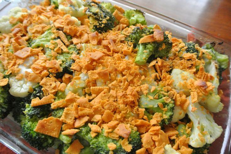Cauliflower Broccoli Gratin | Sides | Pinterest