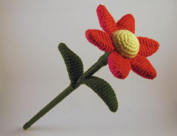 Amigurumi Flower Crochet Pattern : Daisy Flower - Crochet Pattern Crochet Amigurumi Pinterest
