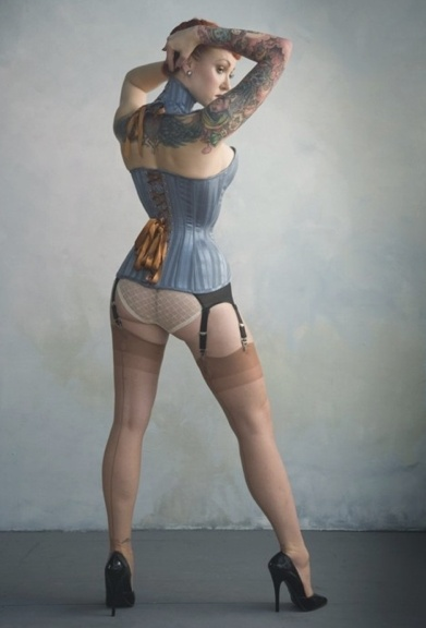 wear suits: ladies and tattoos