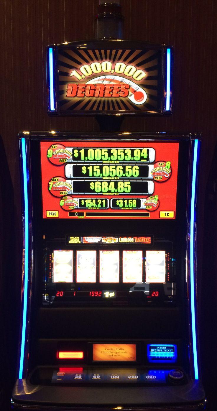 million degrees slot machine