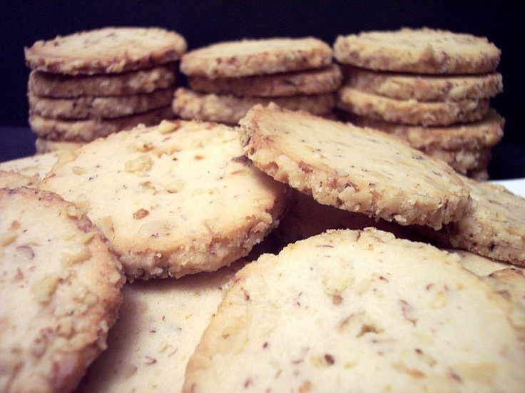 Cream Cheese Walnut Cookies. ~ | Cookies and bars | Pinterest