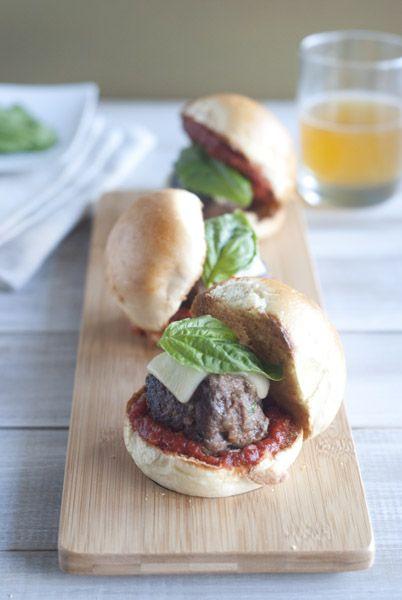 Mini Meatball Sliders | Dinner | Pinterest