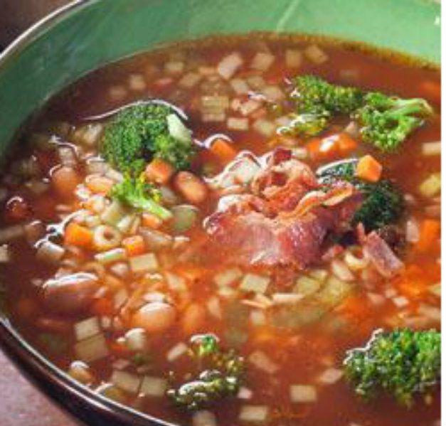 Minestrone - Holidays | Food | Pinterest