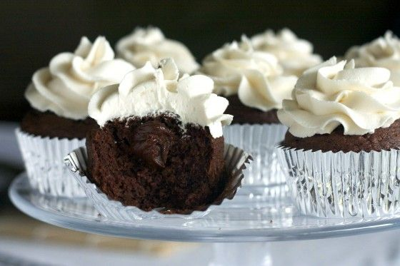 Chocolate Stout Cupcakes With Irish Whiskey Filling Recipes ...