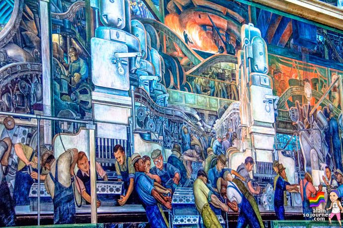 Pin by mrs caram on muralists pinterest for Diego rivera dia mural
