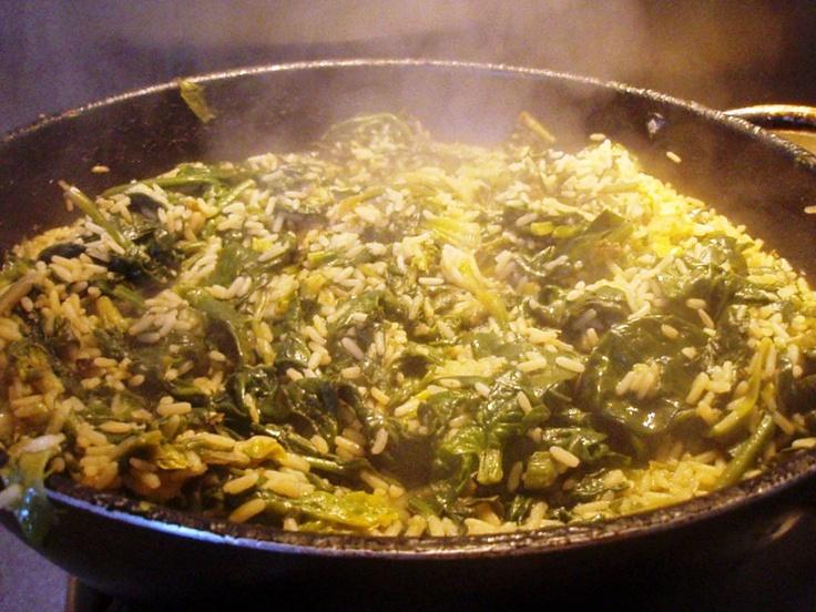 Spanakorizo- Greek spinach and rice dish | Grains & Rice... | Pintere ...