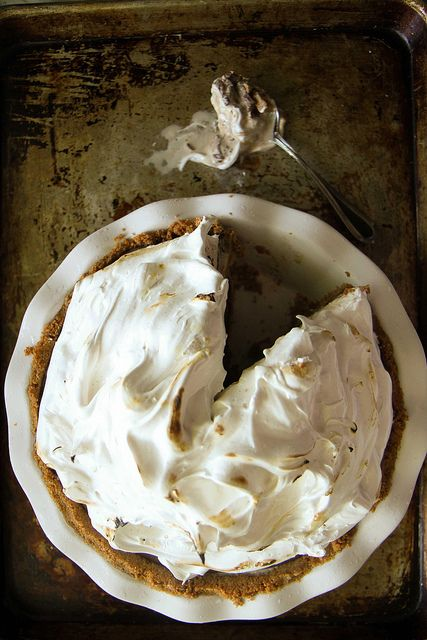 S'mores Ice Cream Pie by Heather Christo