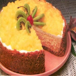 Tropical Cheesecake | Food is my weakness | Pinterest