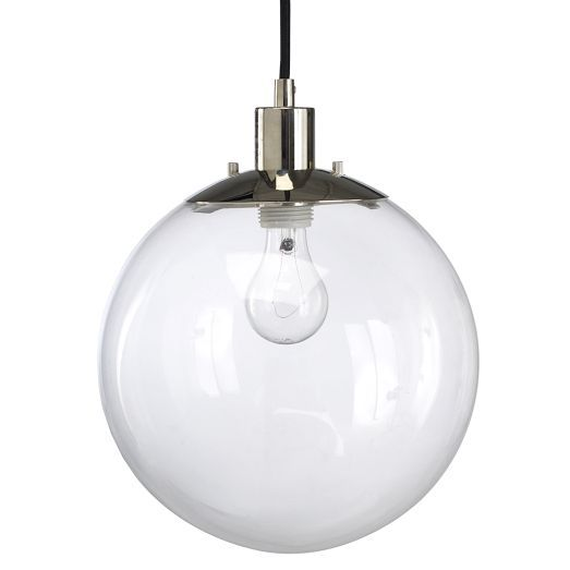 globe pendant clear