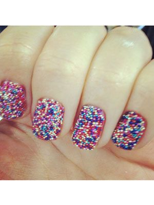 I've always wanted to try caviar nails!