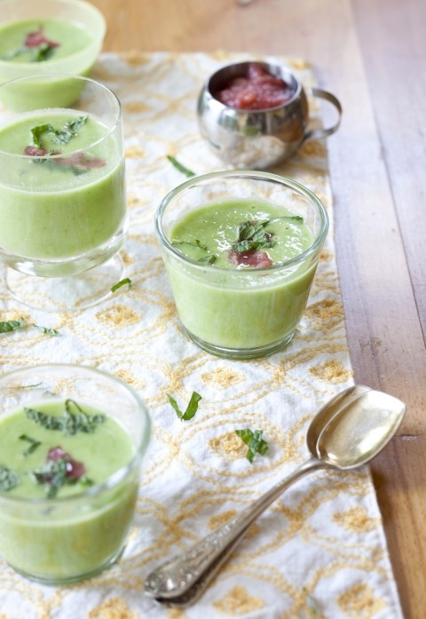 Pea Soup with Coconut and Ginger | (More) Soup For You! | Pinterest