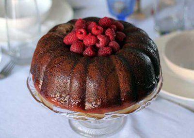 ... Yogurt Bundt Cake with Cinnamon-Honey Glaze by Amanda at the red table