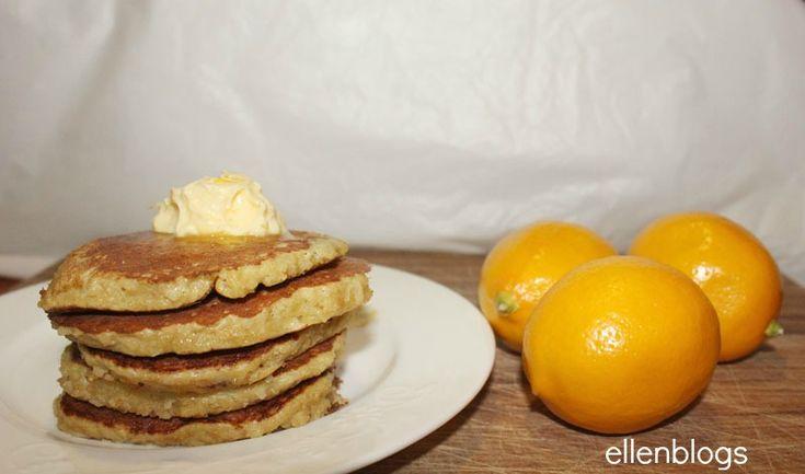 Paleo Banana Pancakes with Meyer Lemon Butter | Recipe