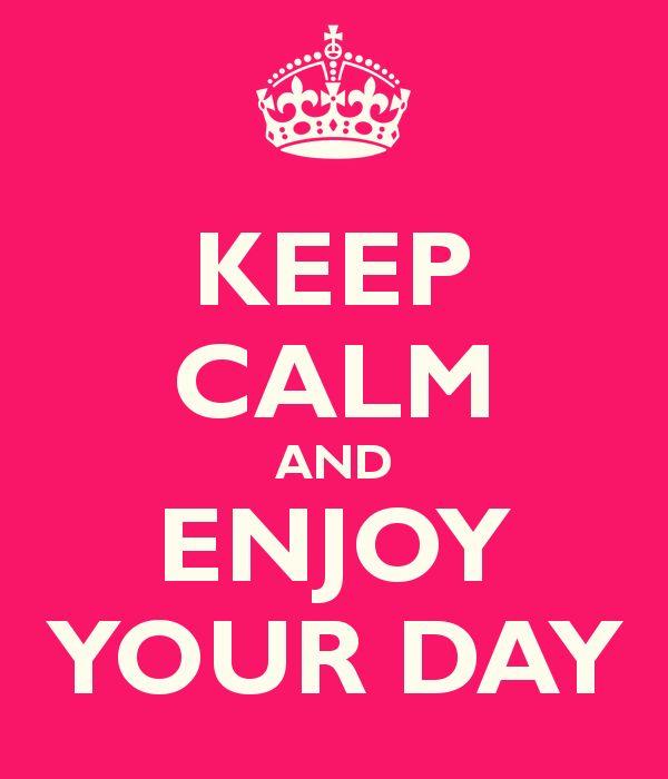 Keep calm and e...