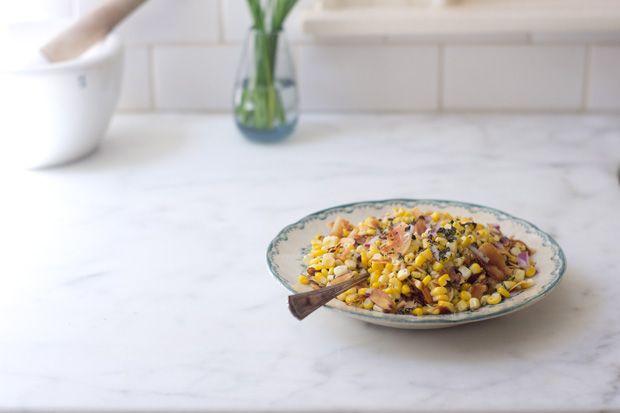 Coconut Corn Salad Recipe from 101 Cookbooks.