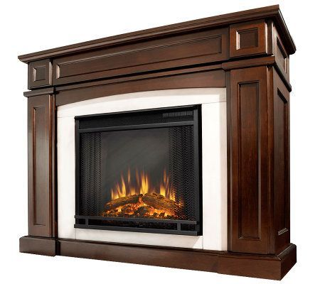 Real Flame Rutherford Electric Fireplace — QVC.com