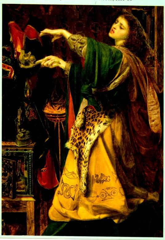 Morgan Le Fay By A F Sandys King Arthur And The Knights