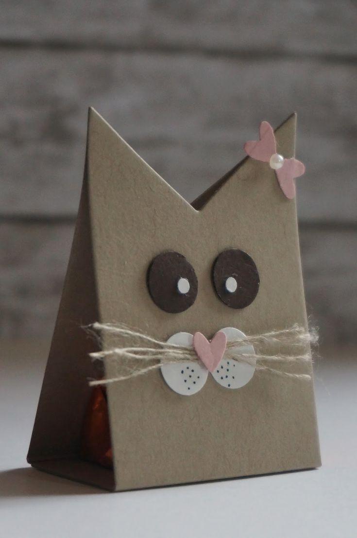 Sweet  treat favor * Villa Kreativa: Ferrero Küsschen Verpackung mal anders