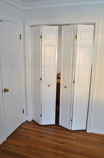 Folding Doors For Laundry Room : Bifold door gap