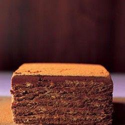 Bittersweet Chocolate Mousse Torte | *~DEVIL'S FOOD~* | Pinterest