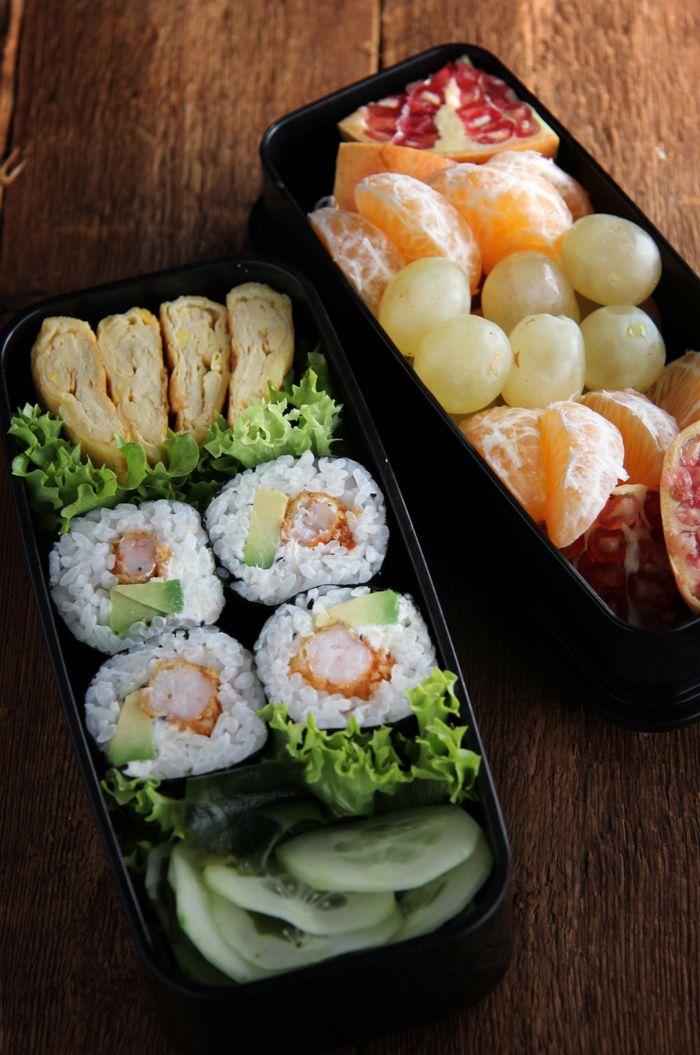Sushi bento food pinterest - Cocinar sushi facil ...