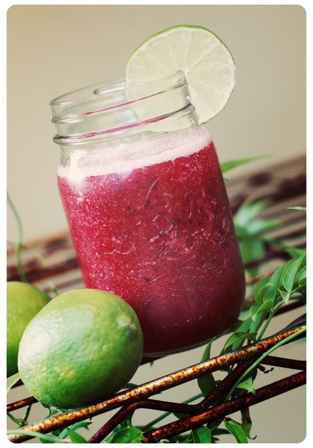 Cherry lime slushy | Treats and Drinks | Pinterest