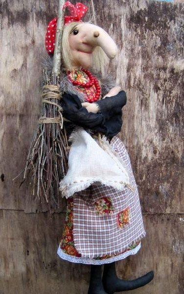 Баба-яга кукла своими руками
