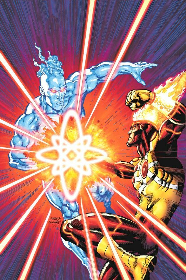 Captain Atom - Firestorm: Ron & Jason | Superheroes | Pinterest
