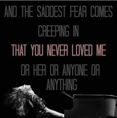 you never loved me lyrics: