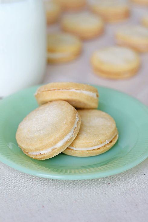 Lemon Sandwich Cookies | My Baking Addiction | Pinterest