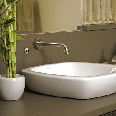 Shallow Farmhouse Sink : shallow sink cabin Pinterest