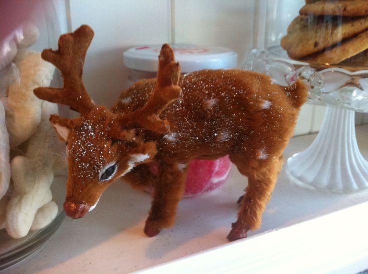 The raindeer | Scandinavian Christmas at Kjersti Munkejord Lambs hous ...