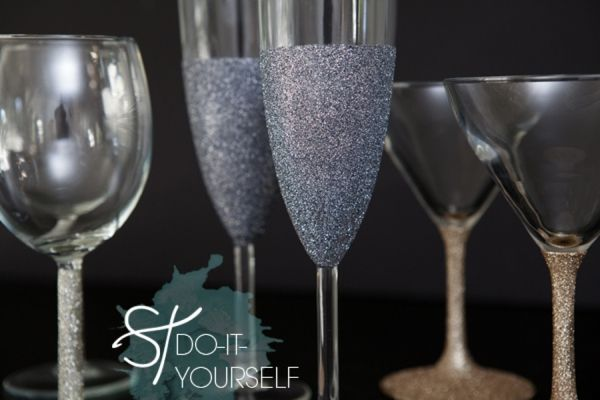 Diy How to make wine glasses sparkle