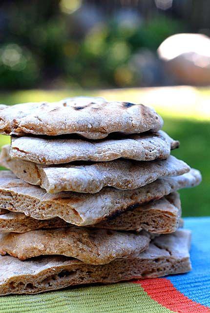 grilled flatbread | artisan bread in 5 | bread | Pinterest