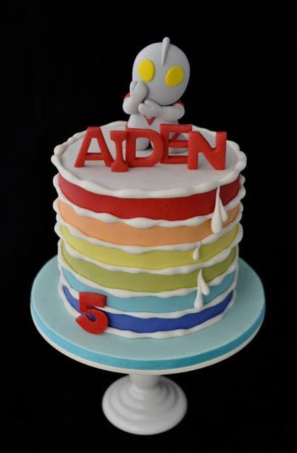 Ultraman Birthday Cake Images Perfectend for