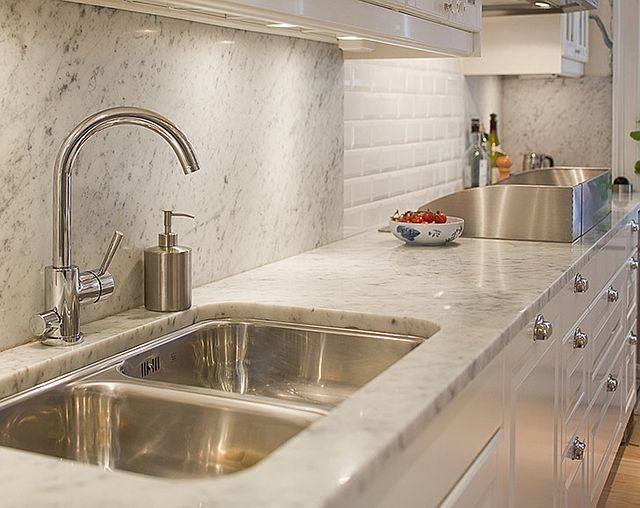 Granite Sink Sealer : Nice variety of backsplash with stainless For the Home Pinterest