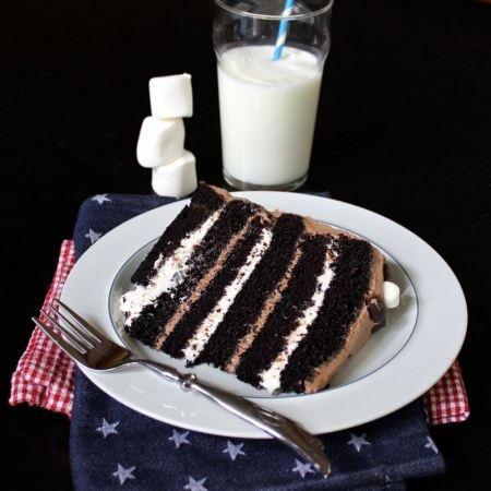 Campfire Ice Cream Cake Recipe — Dishmaps