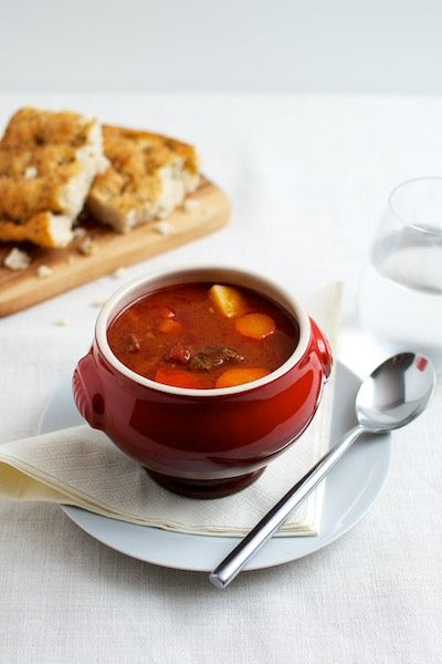 Hungarian Goulash Soup | food n drink | Pinterest
