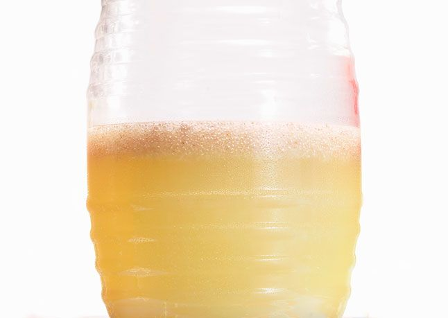 Chia Limeade (I did half limeade half lemonade).. if you've never ...