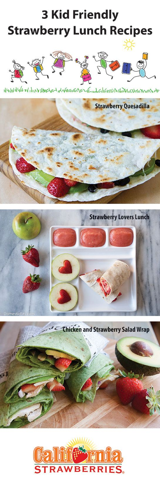 3 Unique and Easy Strawberry Lunch Recipes