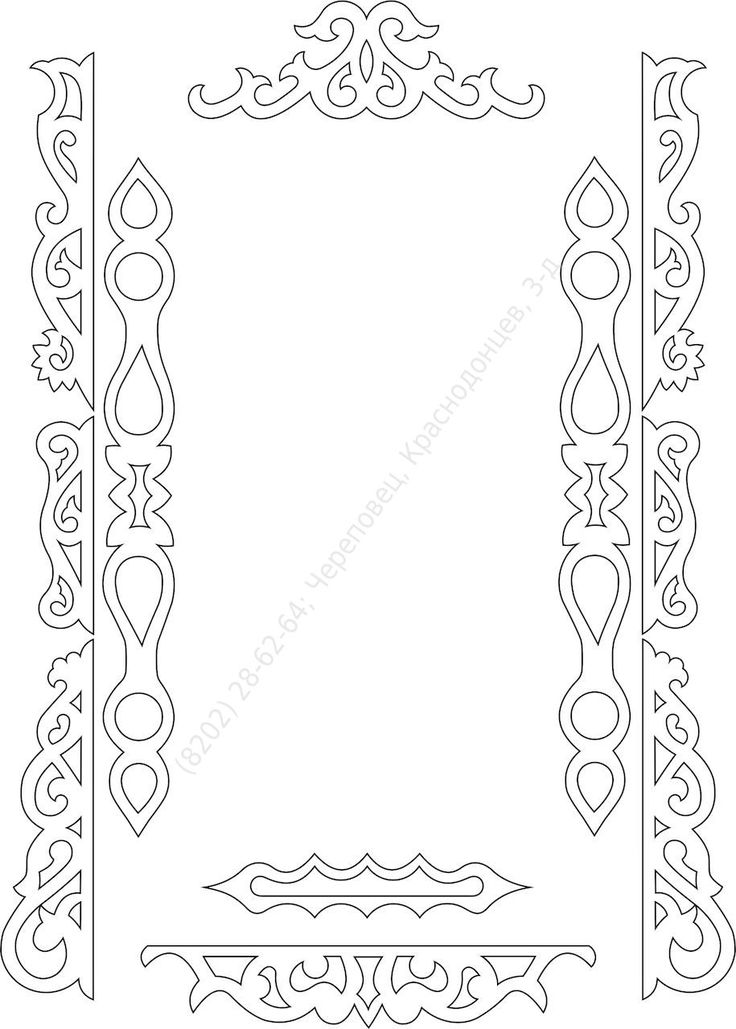 Резные наличники на окна своими руками шаблоны из бумаги 66