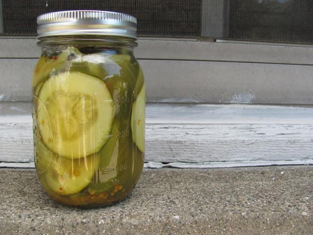 zucchini pickles | Yum | Pinterest