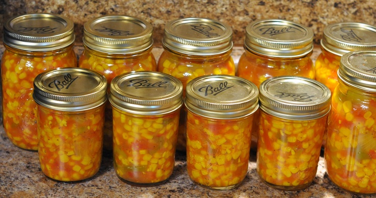Corn Relish! This is my next project.