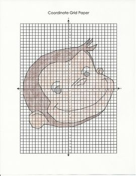 Coordinate Graphing Mystery Picture [Curious George]