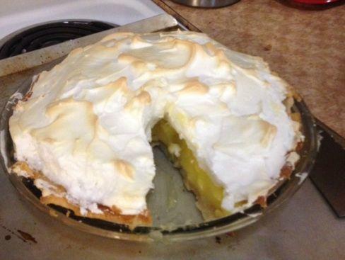 Homemade Lemon Meringue Pie | Favorite Recipes | Pinterest