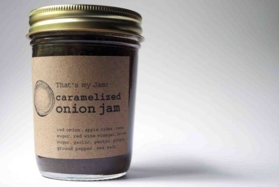 That's my Jam Caramelized Onion Jam 8oz jar