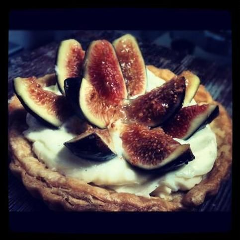 Tender Greens Fig & Mascarpone Tart | Eat Clean | Pinterest
