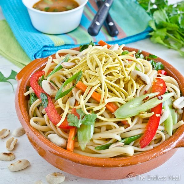 Healthy Asian Noodle Salad | Food | Pinterest