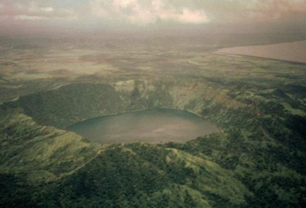 Volcán Apoyeque, NE Managua - Nicaragua